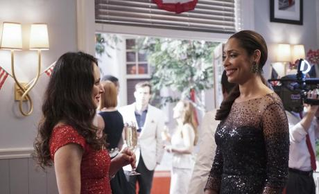 Natalie and Victoria - Revenge Season 4 Episode 16