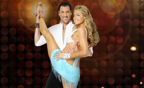 Maksim Chmerkovskiy and Denise Richards Photo
