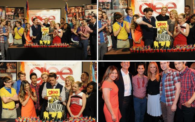 Glee 100th episode celebration
