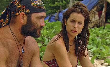 Russell Threatens Danielle