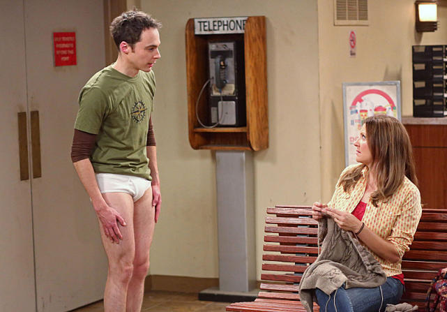 Sheldon Lost His Pants