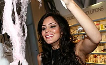 American Idol Picture of the Day: Katharine McPhee, Cotton Candy Maker