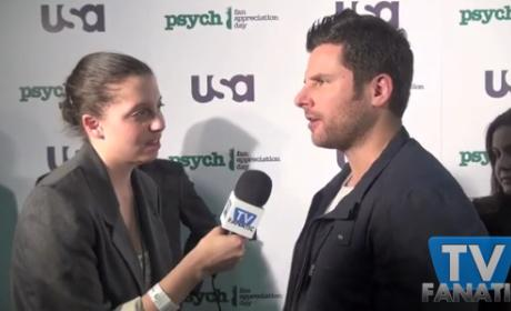 Psych Exclusive: On the Green Carpet with James Roday!