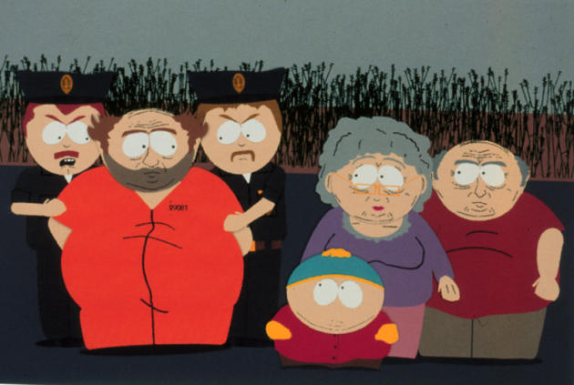 Cartman Frees Charles Manson