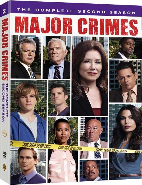 Major Crimes DVD