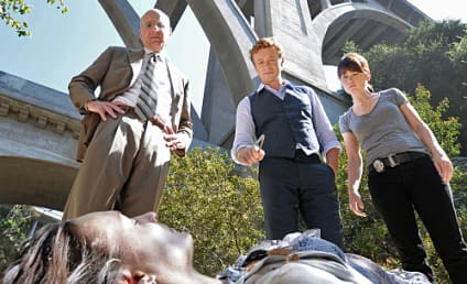 "The Mentalist Episode Stills from ""The Scarlet Letter"""