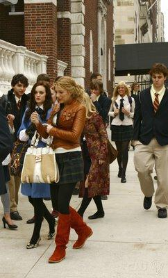 Blair and Serena on the Move