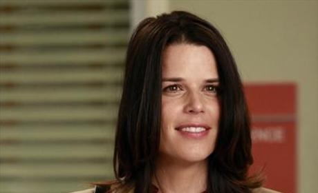 Neve Campbell on Grey's