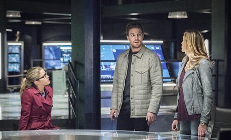 Coordinating - Arrow Season 4 Episode 13