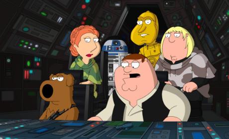 Family Guy Season Finale Scene
