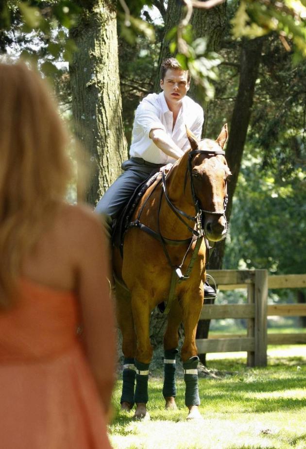 Carter on Horseback