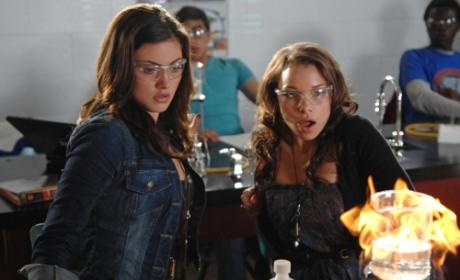Faye and Melissa