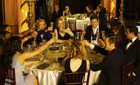 Castle Season Finale Photos: It's Time to Celebrate!