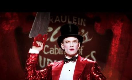 Neil Patrick Harris on American Horror Story: First Freak Show Look!