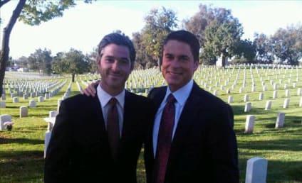 Brothers & Sisters Spoiler Alert: Robert in the Cemetery