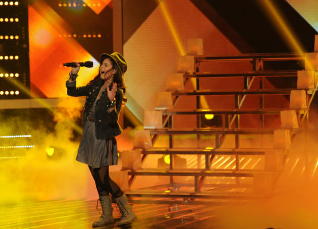 Carly Rose Sonenclar on The X Factor