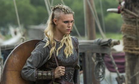 Porunn the Shield Maiden - Vikings Season 3 Episode 1