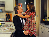 Barney Holds Lily