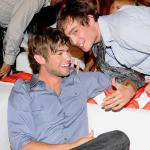 Ed Westwick, Chace Crawford
