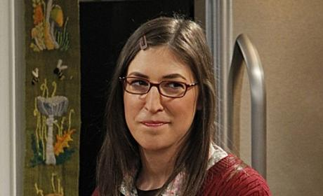 Mayim Bialik as Amy Farrah Fowler  - The Big Bang Theory