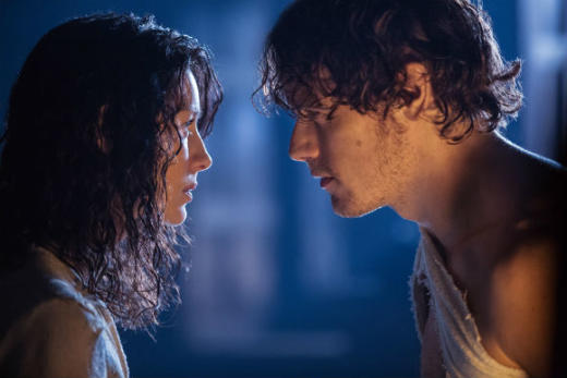 Claire and Jamie Falling In Love