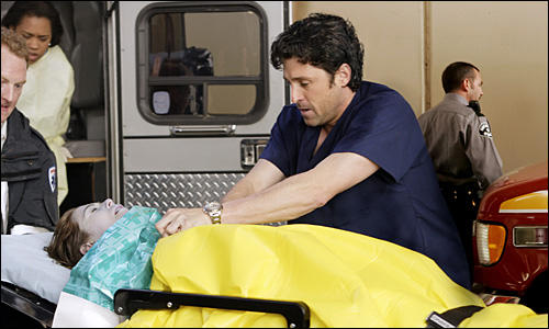 McDreamy Tries to Revive Meredith