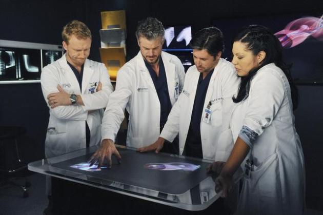 Owen, Mark, Callie and Der
