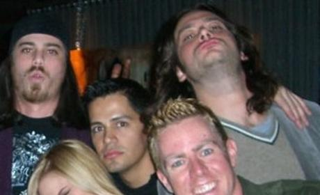 Constantine Maroulis Hangs Out with Troubled Miss USA, Tara Conner