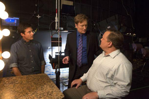 Conan O'Brien and Andy Richter on Arrested Development