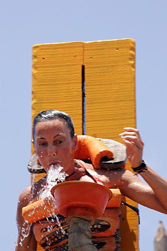 Kristina Kell Spits Water