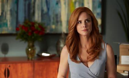 Sarah Rafferty Teases Suits Season 5, Harvey/Donna/Louis Work Triangle