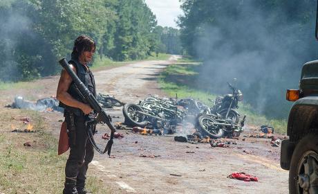 The Walking Dead Season 6 Report Card