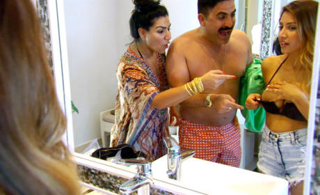 Asifa Getting Ready - Shahs of Sunset