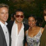 Justin and Keisha Chambers, Kate Walsh, Alex Young