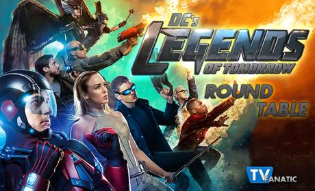 DC's Legends of Tomorrow Round Table: Is Stein Yoda or an Angry Old Man?