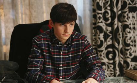 Henry Looks Concerned - Once Upon a Time Season 4 Episode 14