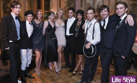 Gossip Girl Cast Celebrates Blake Lively's 21st Birthday