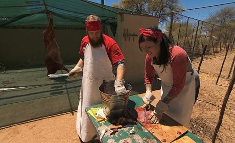 Meat Carving - The Amazing Race