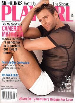 Cameron Mathison, Playgirl