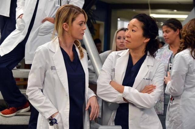 Giving Meredith the Eye