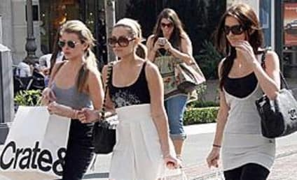 The Hills Stars Out in Force... Shopping
