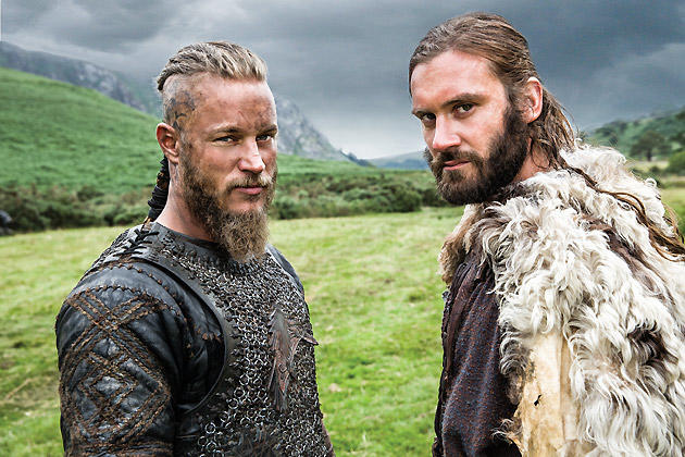 Ragnar and his Brother Rollo
