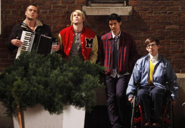 Glee Takes NYC