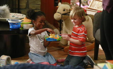 Zola and Bailey - Grey's Anatomy Season 11 Episode 22