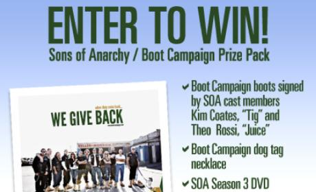 Sons of Anarchy Contest Winner: Announced!