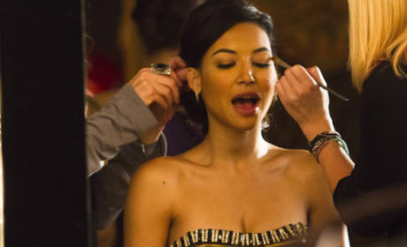 Santana Gets Made Up