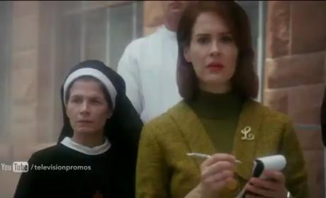 American Horror Story Asylum: First Footage!