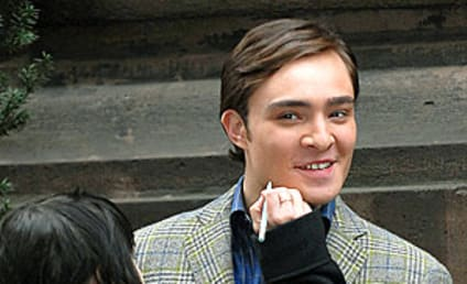 Ed Westwick: Dapper on the Set