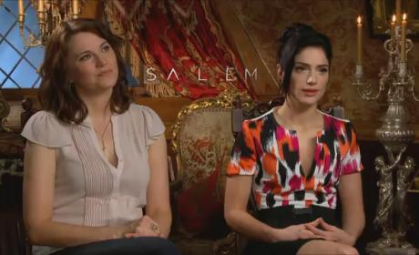 Salem: Lucy Lawless & Janet Montgomery on the Grand Rite and Mary's Magnetism