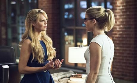 Your hair looks great - Arrow Season 4 Episode 22